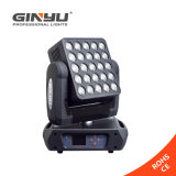 Indicatore luminoso capo mobile di illuminazione 5X5 PCS LED Maritx di DMX