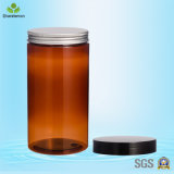 1000ml Pet Large Food Storage Plastic Jar para Tea-Leaf