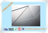 2.0mm 1220 X 2440mm Super Clear lámina de PVC transparente para Doblado
