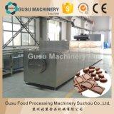 Deux genres d'haricot de chocolat faisant la machine