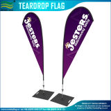 Precios al por mayor Playa Bow Batfan Pluma Teardrop Mochila Flying Banner (J-NF04F06094)