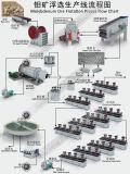 De Machine van de oprichting voor Stroomschema van de Installatie van de Verwerking van de Oprichting van het Erts van het Molybdeen het Minerale