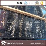 Wall Floor TileのためのイタリアBlack Portoro Marble