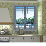 Finestra di alluminio termoresistente di vetro bassa della stoffa per tendine di E (FT-W108)