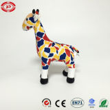 Giraffe High Pelush Standing Toy Animal Colorful Soft Kids Gift