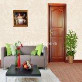 Woodgrain van de deur het Decoratieve Plastic Blad van pvc
