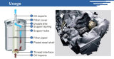 Boîtier en aluminium de filtre à huile de véhicule des pièces de véhicule
