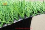 Heißer Plastikgras-Rasen-künstliches Gras des Verkaufs-Einzelheizfaden-50mm für Fußballplatz