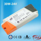 30W-24V constante van het Hoofd voltage Bestuurder met TUV Ce- Certificaat