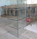 Vetrina Tempered del Governo di vetro per mobilia con il prezzo poco costoso di promozione