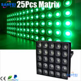 25PCS*30W DEL Matrix Light pour Stage Events