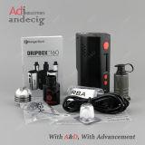 Primo kit del dispositivo d'avviamento di Kanger Dripbox 160W in lotti con capienza dell'atomizzatore 7ml