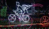 LED 순수한 크리스마스 불빛 휴일 축제 훈장