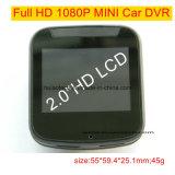 """2.0 """" cámara de rectángulo negro llena privada caliente del coche de HD 1080P con el coche DVR, G-Sensor, visión nocturna, video de la CPU de Novatek 96223 de Digitaces de la rociada del coche del control que estaciona"""