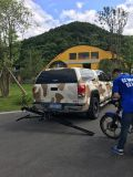 Motocicleta Carrier Rampa