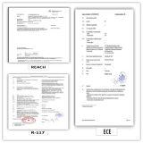 385/55r22.5 (ECOSMART 66) com o caminhão da alta qualidade do certificado de Europa (ETIQUETA do ALCANCE do ECE) & os pneus radiais do barramento