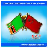 Значок Pin приятельства значка флага эмали
