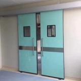 Portello chiuso ermeticamente dell'ospedale, portello scorrevole automatico