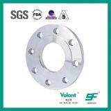 Flangia igienica del Saldare-Collo dell'acciaio inossidabile per la riga ad alta pressione del tubo