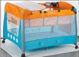 Playpen del bebé del estándar europeo con la red de mosquito y el cambiador de lujo del pañal