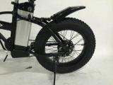 Plegable bicicleta eléctrica con 4,0 Grasa de neumáticos