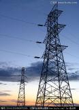 башня передачи силы 132kv стальная для проекта