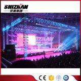 fascio di alluminio/illuminazione della fase di concerto dello zipolo del bullone di 100mm-1010mm