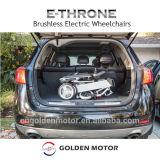'' elektrischer Rollstuhl des beweglichen leichten schwanzlosen Falz-10 mit Batterie LiFePO4