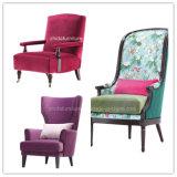 新しいデザイン家具製造販売業ファブリック単一のソファーの椅子の肘掛け椅子
