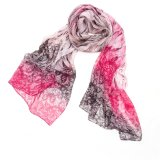 デジタル新しいプリント絹のスカーフ、絹のあや織りのスカーフ。 絹のスカーフ