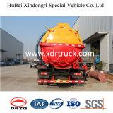 camion speciale di aspirazione delle acque luride 8.5cbm con Cummins Engine