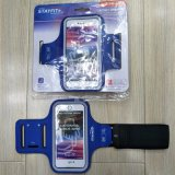 Brazal impermeable de la cubierta del teléfono del deporte al aire libre de Lycra con la identificación de la huella digital