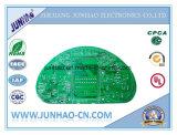 2layer PCBのボードが付いている緑マスクPCBの二重側面Fr4PCB