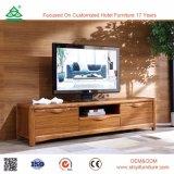 Поставка OEM изготовления на шкафе TV твердой древесины времени просто