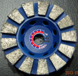 Веерообразный абразивный диск для полируя камня