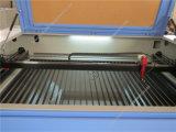 Lederne Tuch-Papier CNC Laser-Ausschnitt-Maschine
