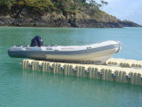 Aqualand 16feet 4.7m Fiberglass Fishing Boat/Rigid Inflatable Boat/Rib Boat (RIB470A)