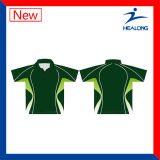 Healong spät voll sublimiertes Breathable Mens-Polo-Hemd