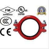 le couplage rigide nodulaire FM/UL/Ce de fer de moulage 42.4mm/1.669inch a reconnu