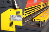 Máquina de corte da guilhotina hidráulica para a estaca da placa