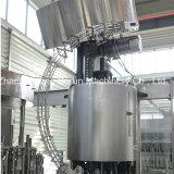 Производственная линия полноавтоматического игристого вина заполняя покрывая