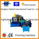 China coloreó el rodillo galvanizado del canal que formaba la máquina