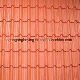 Galvanisiertes Stahlzink-überzogenes gewölbtes für Dach-Fliese
