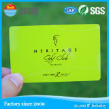 Cartões do plástico da impressão off-Set de cor cheia