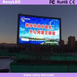Pantalla fija al aire libre a todo color ahorro de energía del LED para hacer publicidad con alto Brightess