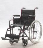 Manuale, pieghevole d'acciaio e CKD, sedia a rotelle, (YJ-023C)