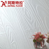 HDF en relieve registrado de superficie (T-Groove) Piso laminado (AT005)