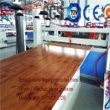 Línea línea el panel de la protuberancia de la tarjeta de WPC de la protuberancia del panel de techo del PVC de pared del PVC que hace la máquina