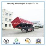 Semi la remorque de camion de 3 essieux dégrossissent camion- de dumper de fabrication