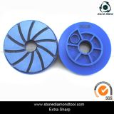 Granite Edge Polishing를 위한 달팽이 Polishing Pad